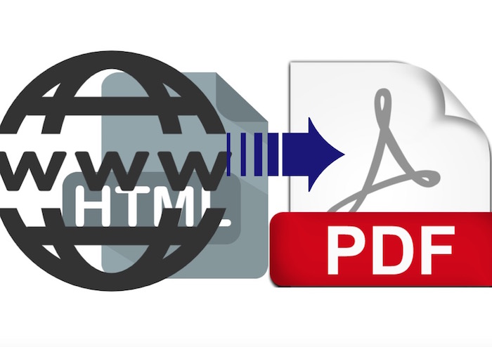 Web Page and HTML to PDF