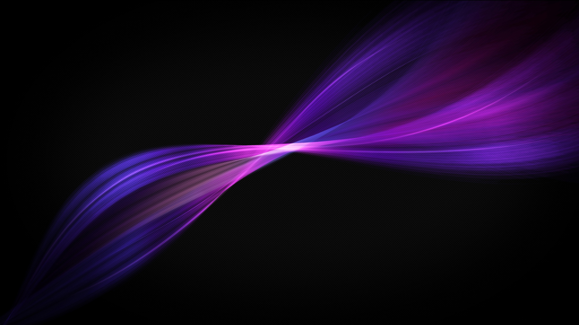Xperia Style Black Background With Purple