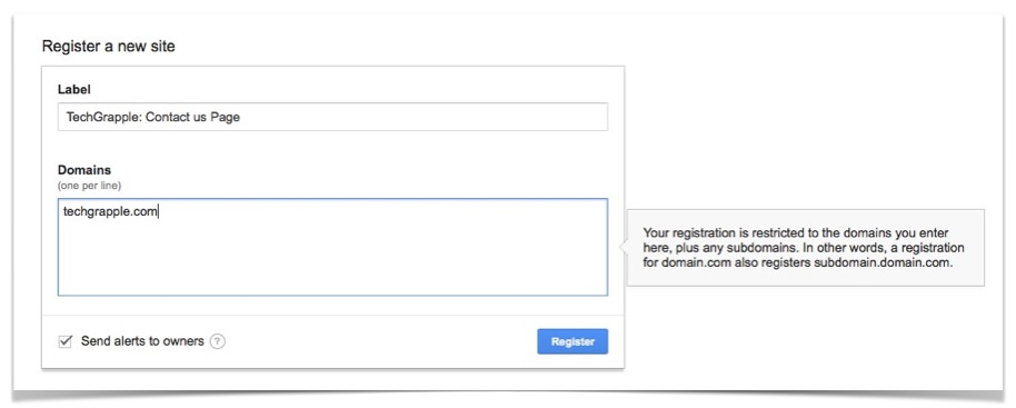 recaptcha-creation-step-1