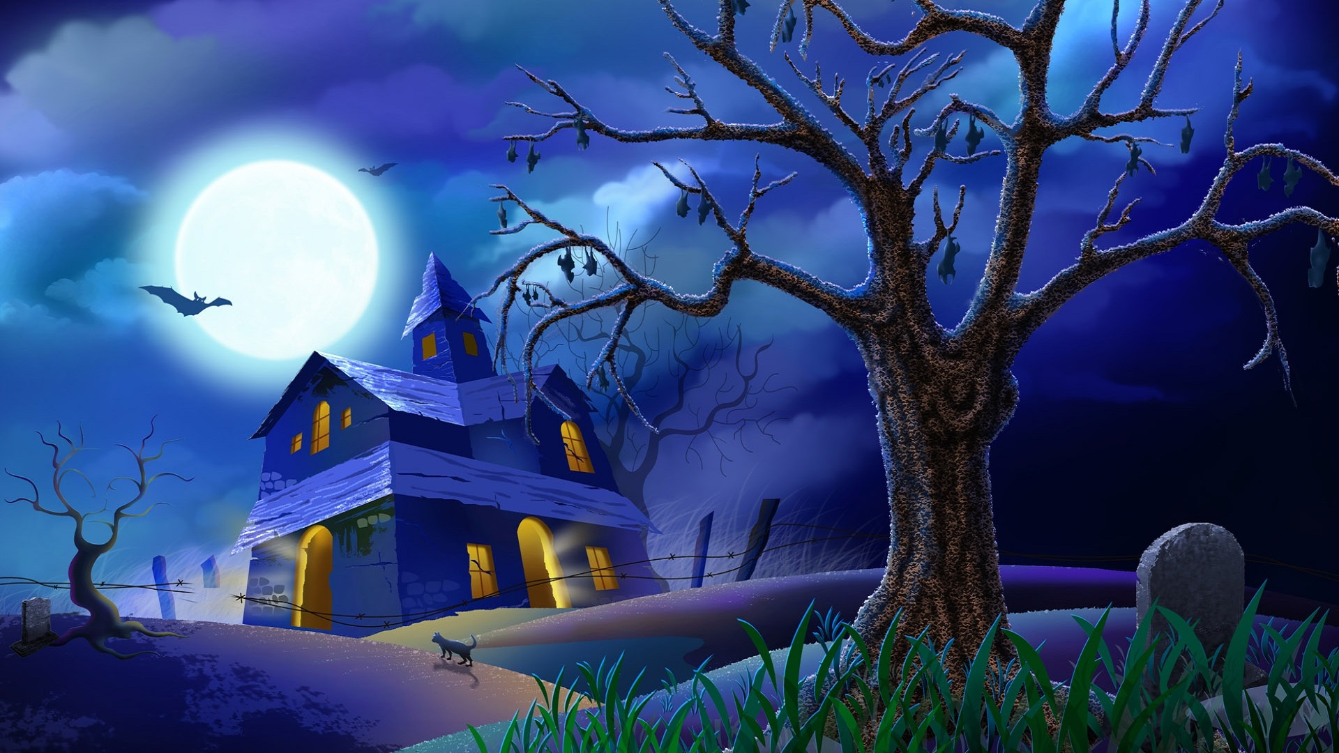 Beautiful Wallpaper High Resolution Halloween - Beautiful-Halloween-images-in-blue  Snapshot_5206.jpg