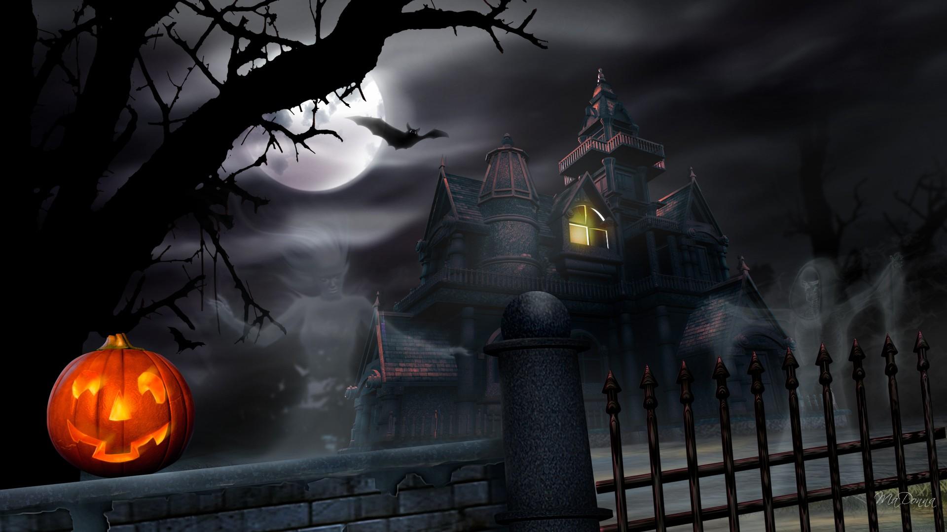 Haunted house  № 587572 бесплатно