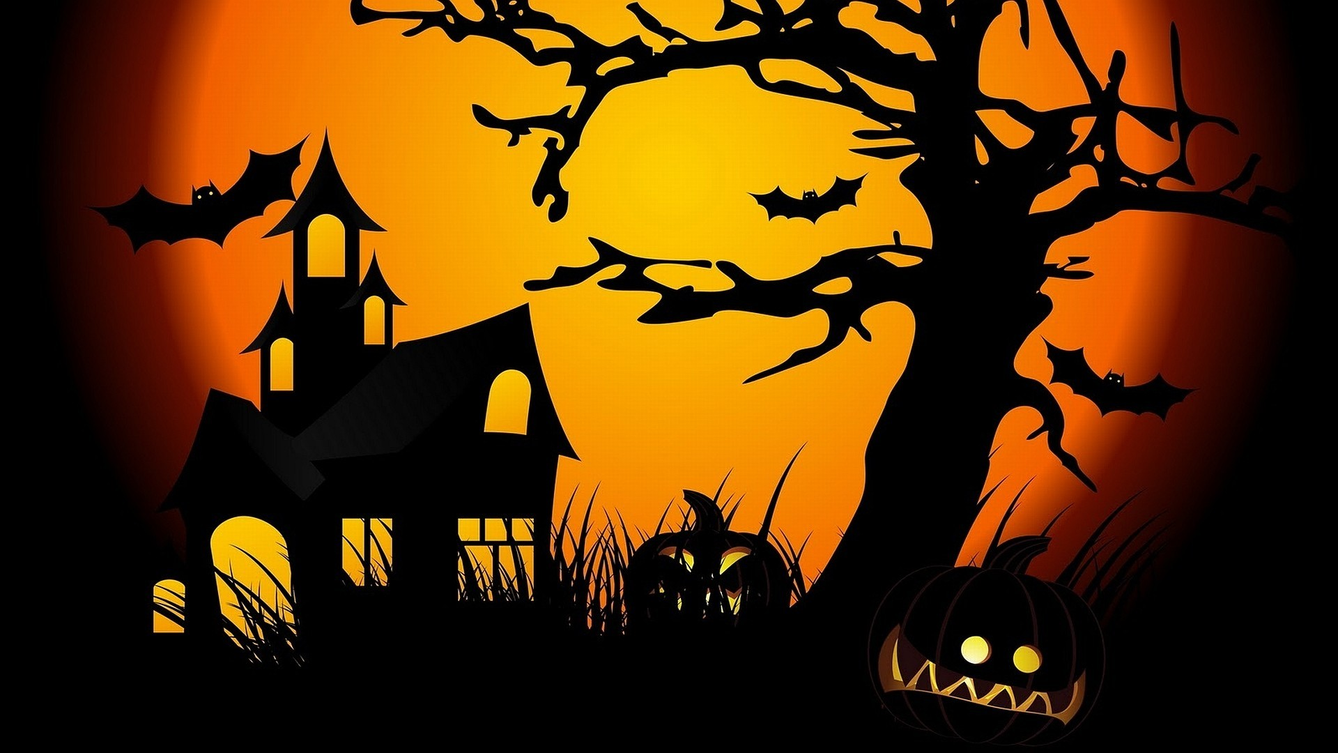 red color bat halloween wallpaper - Halloween Wallpaper Download