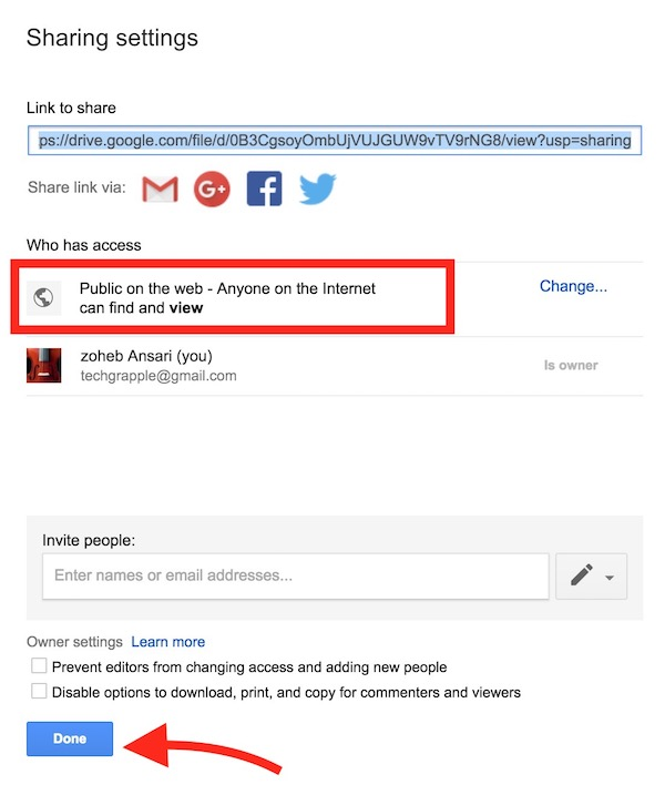 save-the-sharing-setting-on-google-drive
