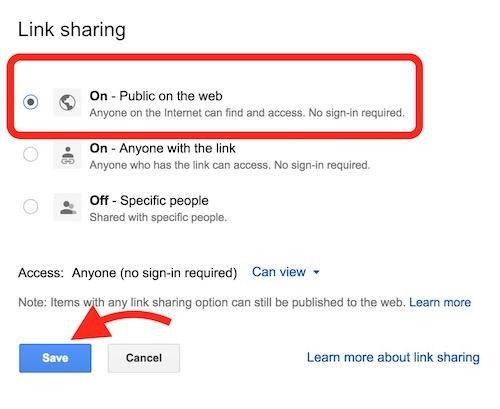 share-google-drive-file-among-public