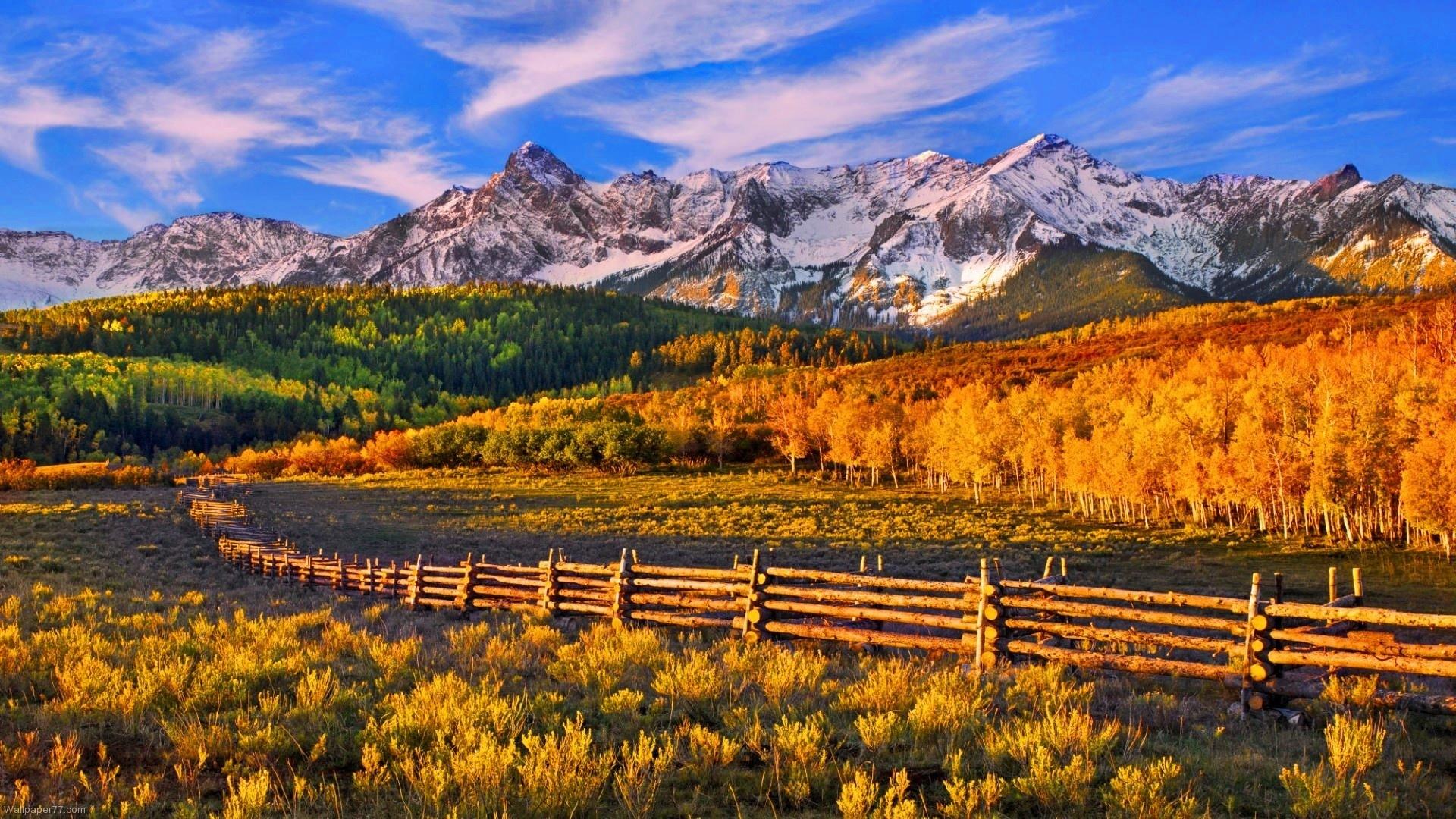 autumn mountains backgrounds. Unique Autumn Autumnbackgroundbluesky  And Autumn Mountains Backgrounds R