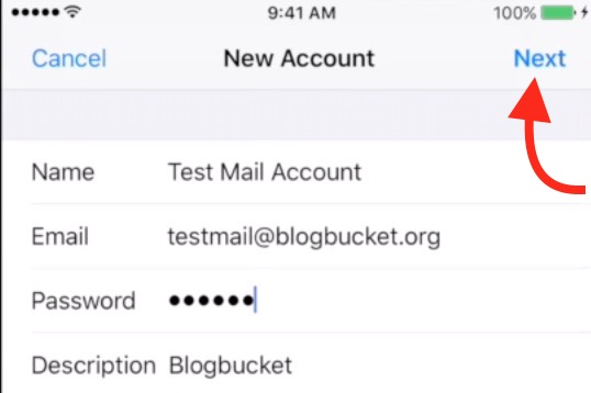 Set up GoDaddy Email and Log in via iPhone Email App