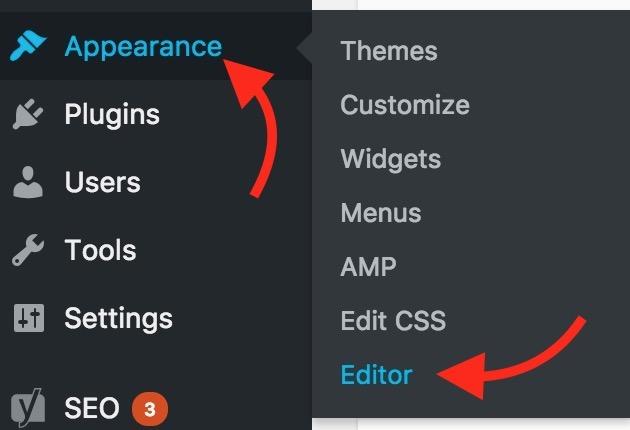 Wordpress Theme Code Editor