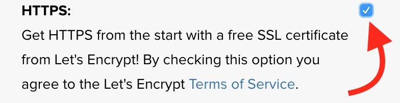 SSL Lets Encrypt