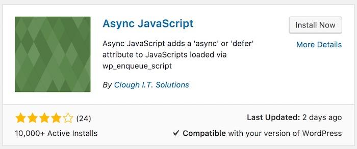 async js