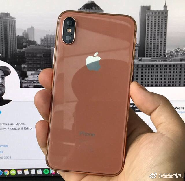 "The new Color of iPhone 8 Would be Called ""Blush Gold"" ?"