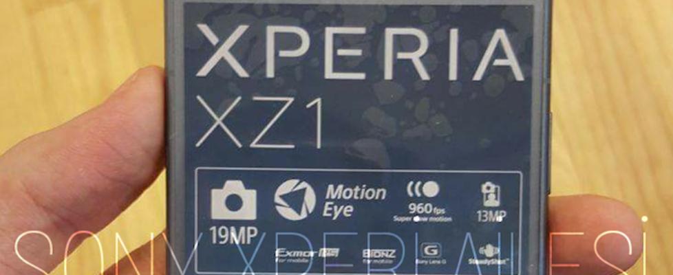 Xperia XZ1 1