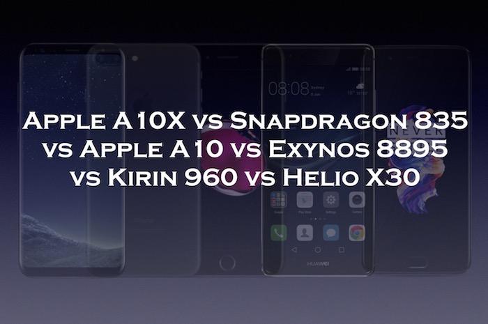 chipset comparison