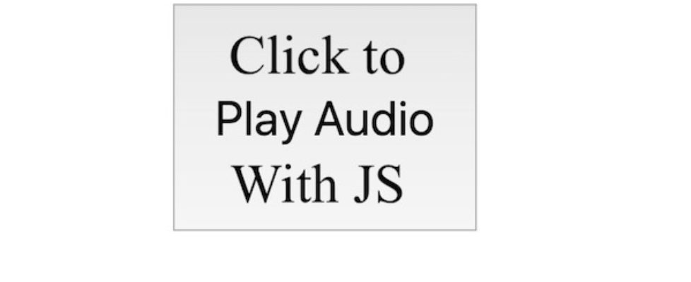js audio